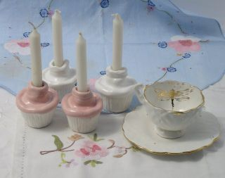 Cupcake candle holders- Wendy McLachlahan