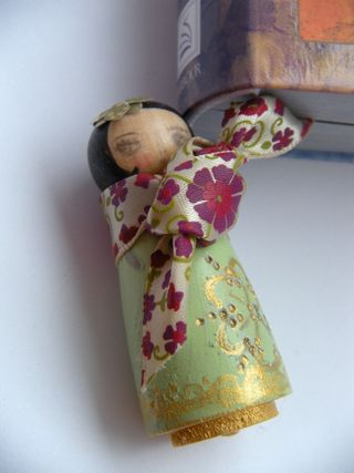 Sunday House Peg Doll Collection, Trix Joel Wedding 130
