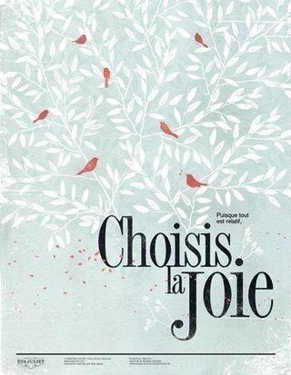 Choisis la joie