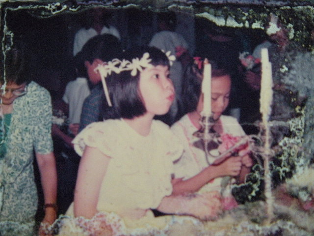 Nina first communion